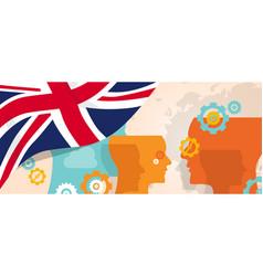 Uk united kingdom england britain concept of vector