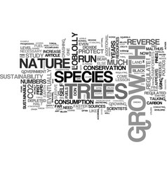 A lesson in sustainability text word cloud concept vector