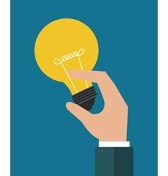 Big idea bulb vector