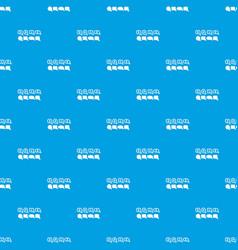 bubble speech sale pattern seamless blue vector image