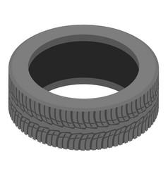 Decoration tyre icon isometric style vector