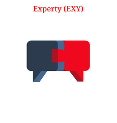 Experty exy logo vector