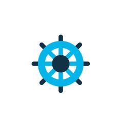 handwheel icon colored symbol premium quality vector image