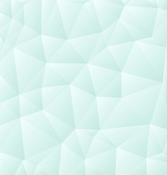 Light polygon background vector image