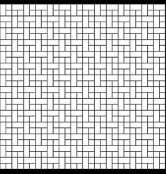 Seamless japanese cross pattern icon isolated on vector