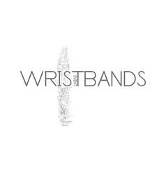 Wristbands an event planner s best friend text vector