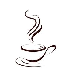cupofcoffee vector image vector image
