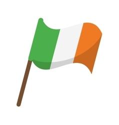 flag celebration saint patrick day vector image