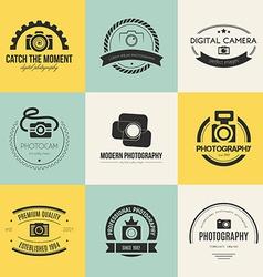 Photography Logos vector image