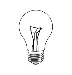 figure bulb icon image vector image