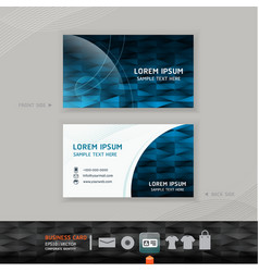 Abstract modern Business-Card Design vector image