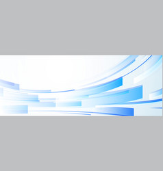 background with abstract pattern white and blue vector image