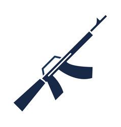 memorial day gun military american celebration vector image