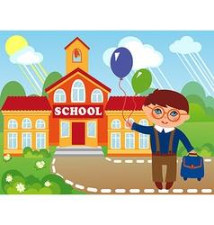 Schoolboy vector
