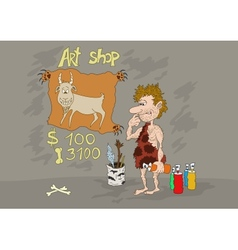 Stone Age Art Shop vector