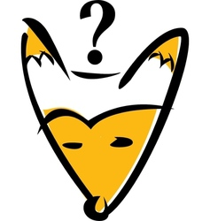 what does fox say vector image