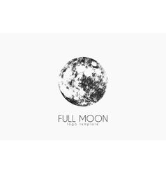 Moon logo design Creative moon logo Night logo vector image