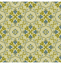 seamless pattern in eastern style vector image