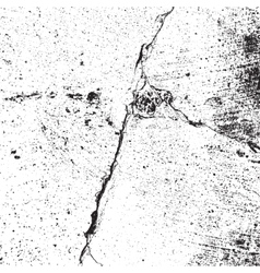 Distressed Cracked Texture vector image vector image