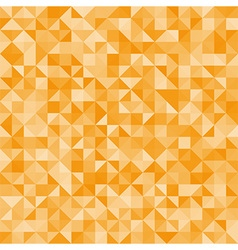 Abstract orange triangles vector
