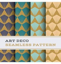 Art Deco seamless pattern 08 vector image