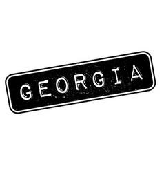 Georgia rubber stamp vector