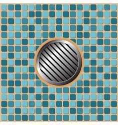 pool floor vector image