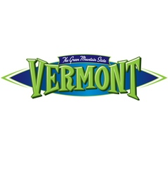 Vermont The Green Mountain State vector image