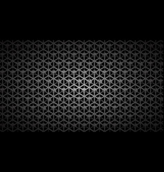 abstract background of isometric grid with cubes vector image