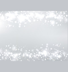 abstract gray blurred background with bokeh and vector image