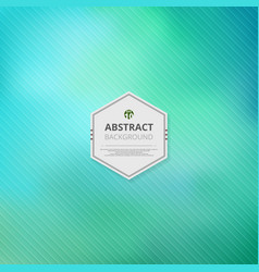 abstract of colorful mesh green background vector image