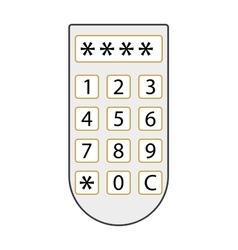 Access panel vector