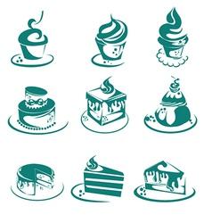 Cafe food vector