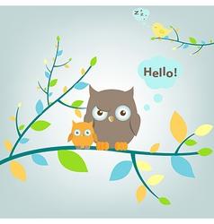 Fantastic Owls vector