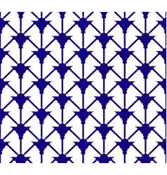 Indigo pattern vector
