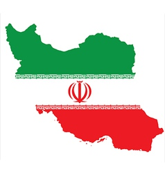 Iran flag vector
