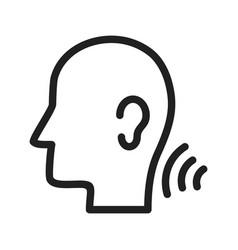 Listening skills vector
