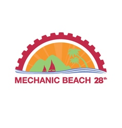 Mechanic Beach Logo vector