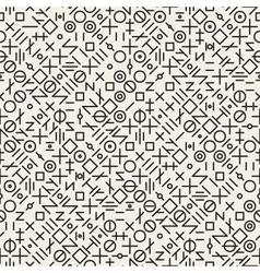 Seamless Black and White Geometric Random vector