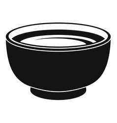 spinach soup icon simple style vector image