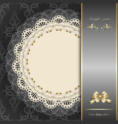 luxury design elements vector image vector image