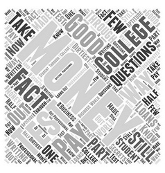 The Internet and ORPGs Pros And Cons Word Cloud vector image vector image