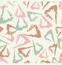 vintage abstract seamless pattern with hand drawn vector image vector image