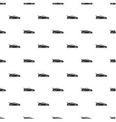 rally racing car pattern vector image