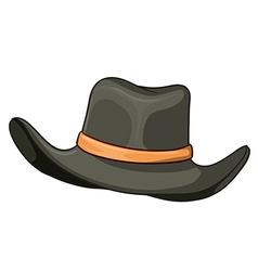 A grey hat vector image