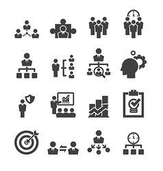 Manage icon vector