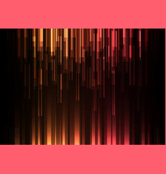 orange red overlap pixel speed abstract background vector image