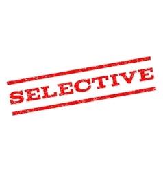 Selective Watermark Stamp vector