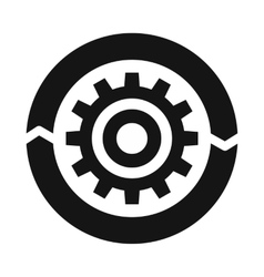 Setting parameters icon simple style vector