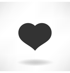 Simply Heart Icon vector image